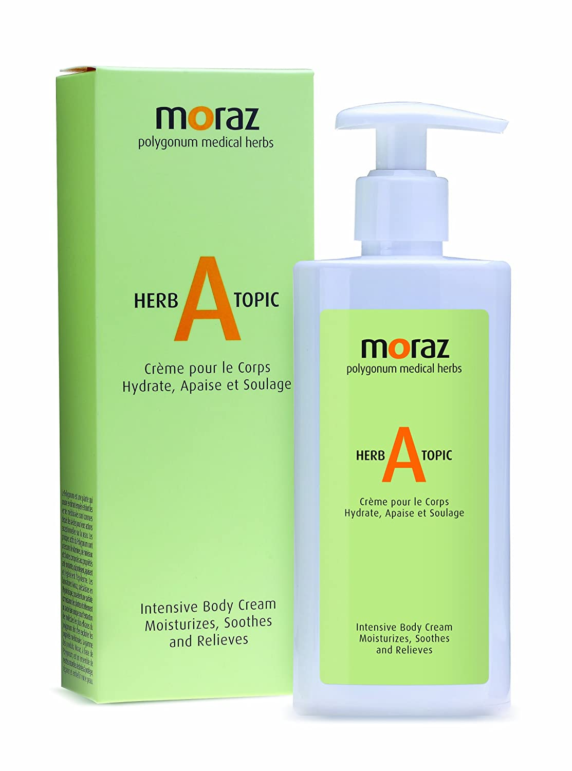 Moraz HERBATOPIC Natural Polygonum Cream for the Treatment and Relaxation of Skin Rashes and Irritations 92.155