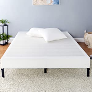 AmazonBasics Mattress Foundation, Smart Box Spring, Tool-Free Easy Assembly - 7-Inch, Queen