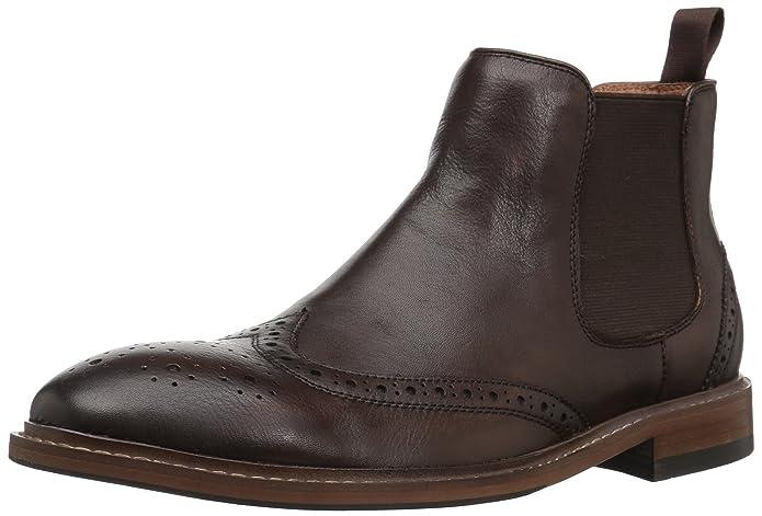 Florsheim Belfast Plain Toe Gore Boot(Men's) -Black Calf Leather Newest Online xVXaL1