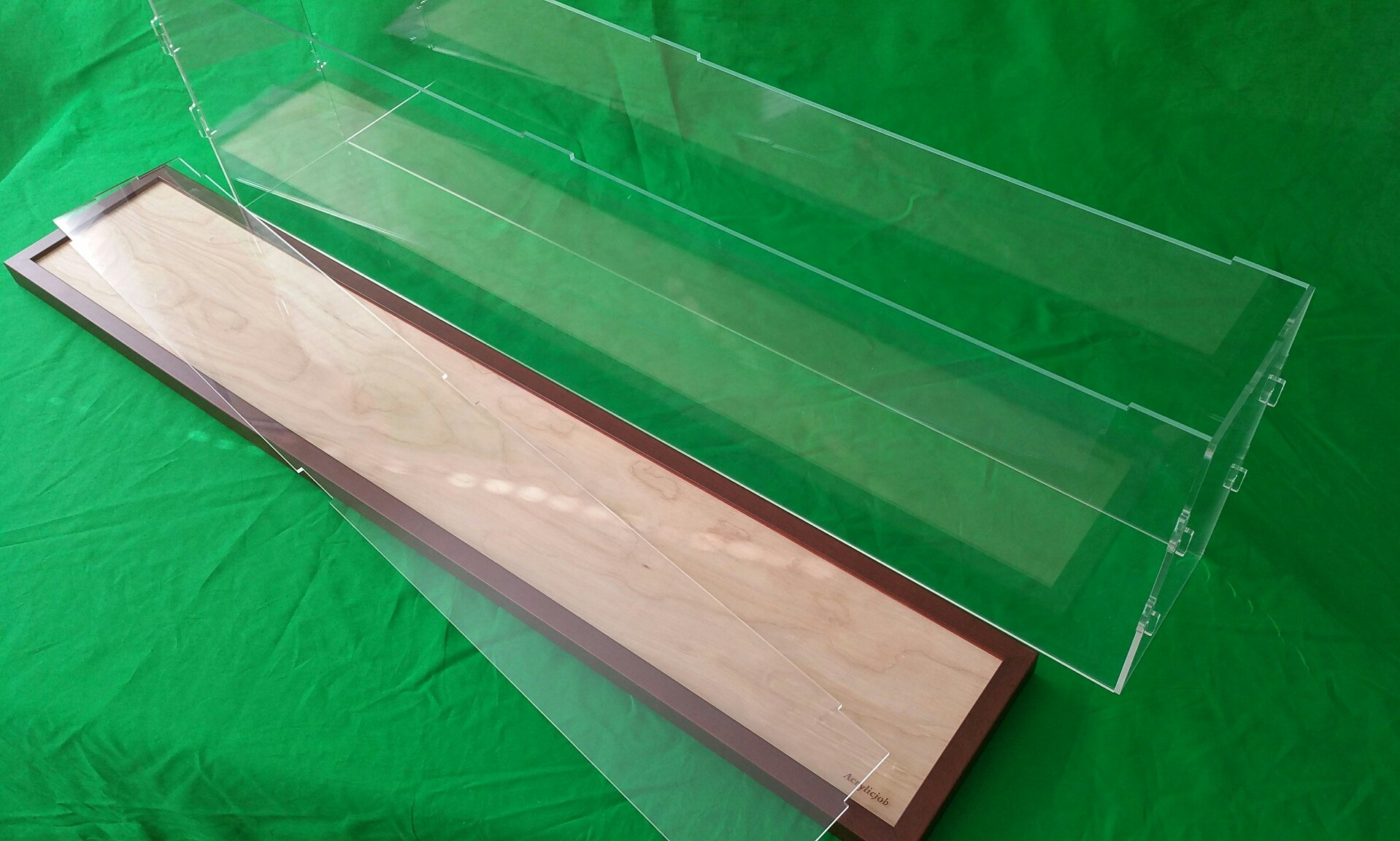 42''L x 6''W x 12''H Display Case Box for Model Cruise Ships and Ocean Liner LGB and G Scale Trains 1/32 1/23 Plexiglass Acrylic by Acrylicjob (Image #5)