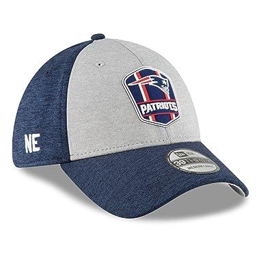 New Era 2018 3930 NFL New England Patriots Sideline Road Hat Cap Flex Fit (S d8c0020d3bd