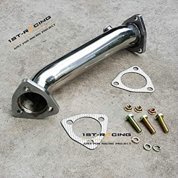 Stainless Steel Turbo Downpipe Exhaust For 97-05 Audi A4 B5 B6 VW PASSAT 1.8T