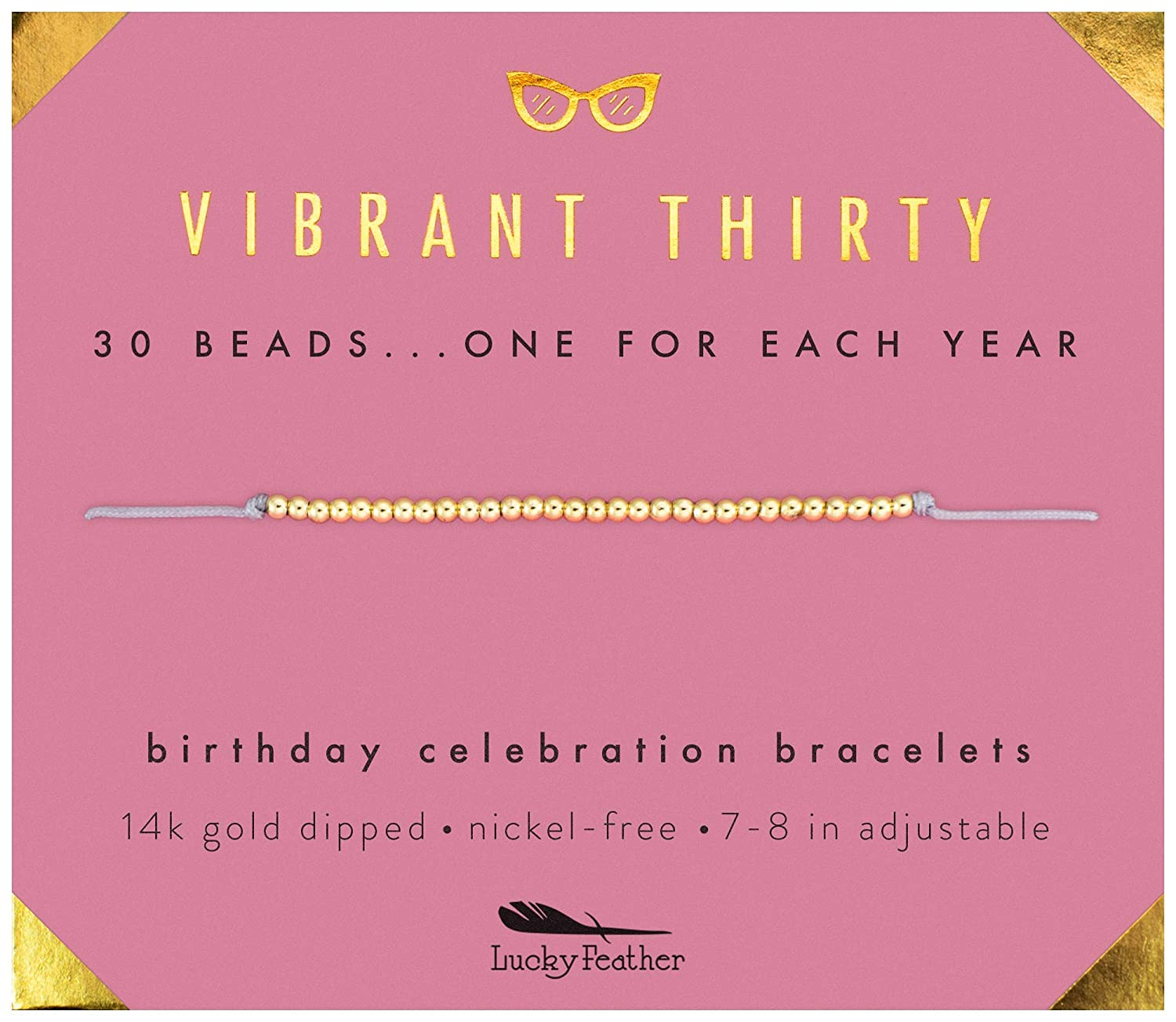 Lucky Feather 30th Birthday Gifts For Women