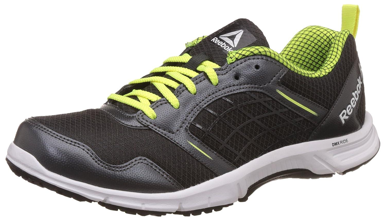 d9771cc65e95 Reebok Men s Road Rush Coal Yellow Metsil Black Running Shoes - 7 UK India  (40.5 EU)(8 US) (CN0483)  Buy Online at Low Prices in India - Amazon.in