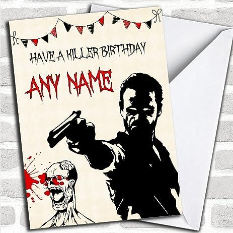 Amazon Killer Rick Grimes The Walking Dead Personalized