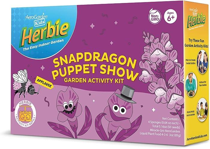 AeroGarden Kid's Snapdragon Seed Pod Activity Kit