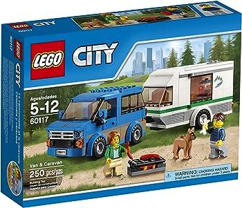 LEGO City Great Vehicles Van & Caravan