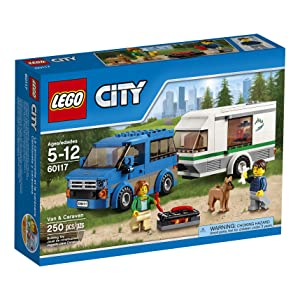 Best LEGO CITY Van & Caravan 60117 sets for boys