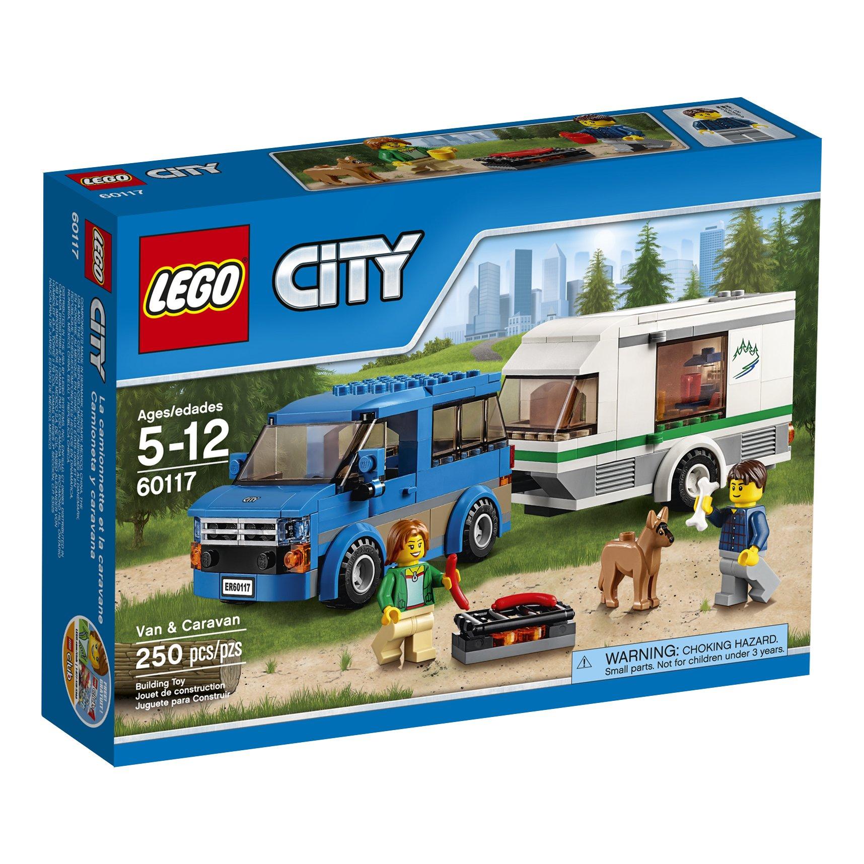 Lego City Van Caravan Construction Toys For Boys Girls Kids