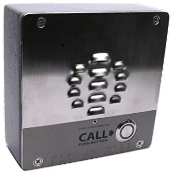 Ip Intercom Voip Door Entry Sip Enabled Cat5e And Poe Amazon