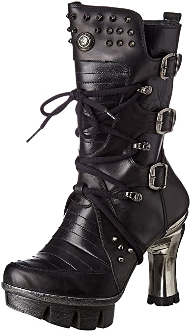 New Rock M-neopunk004-s1, Women's Biker Boots: Amazon.co.uk: Shoes & Bags