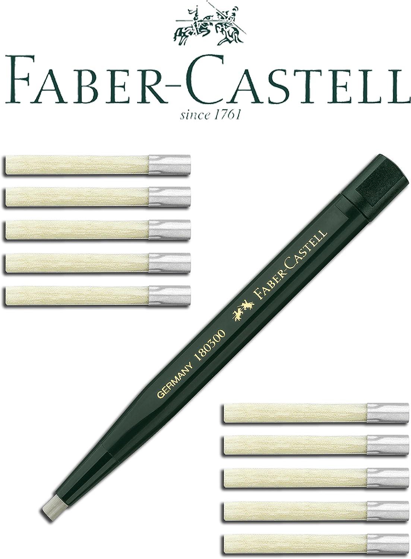 Schaftfarbe Drehstift mit Glasradierer Faber Castell 180300 grün