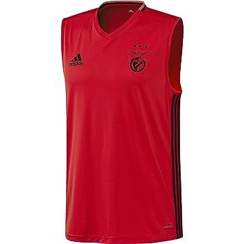 125c2d47732 adidas SLB SL JSY - T-Shirt for Benfica FC for Men, S, Red/Black ...