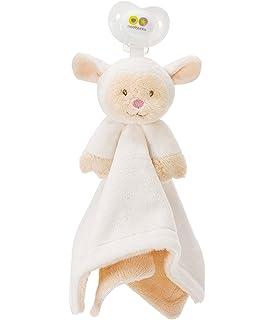 Amazon.com : Nookums Paci-Plushies Bunny Blankies- Pacifier ...