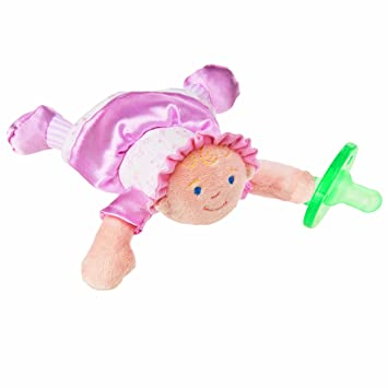 Amazon.com: Wubbanub felpa Chupete Toy, Little Princess ...