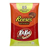 Deals on 85-Count Hersheys Reeses and Kit Kat Valentines Chocolate