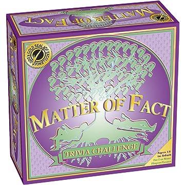 buy Matter of Fact