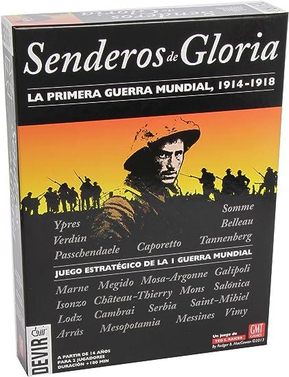 Devir - Senderos de Gloria, la Primera Guerra Mundial, Juego de Mesa (BGGLORI): Amazon.es: Juguetes y juegos