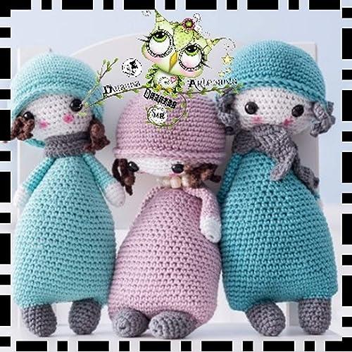 GORJUS AMIGURUMI PERSONALIZABLE (Bebé, crochet, ganchillo, muñeco, peluche, niño,