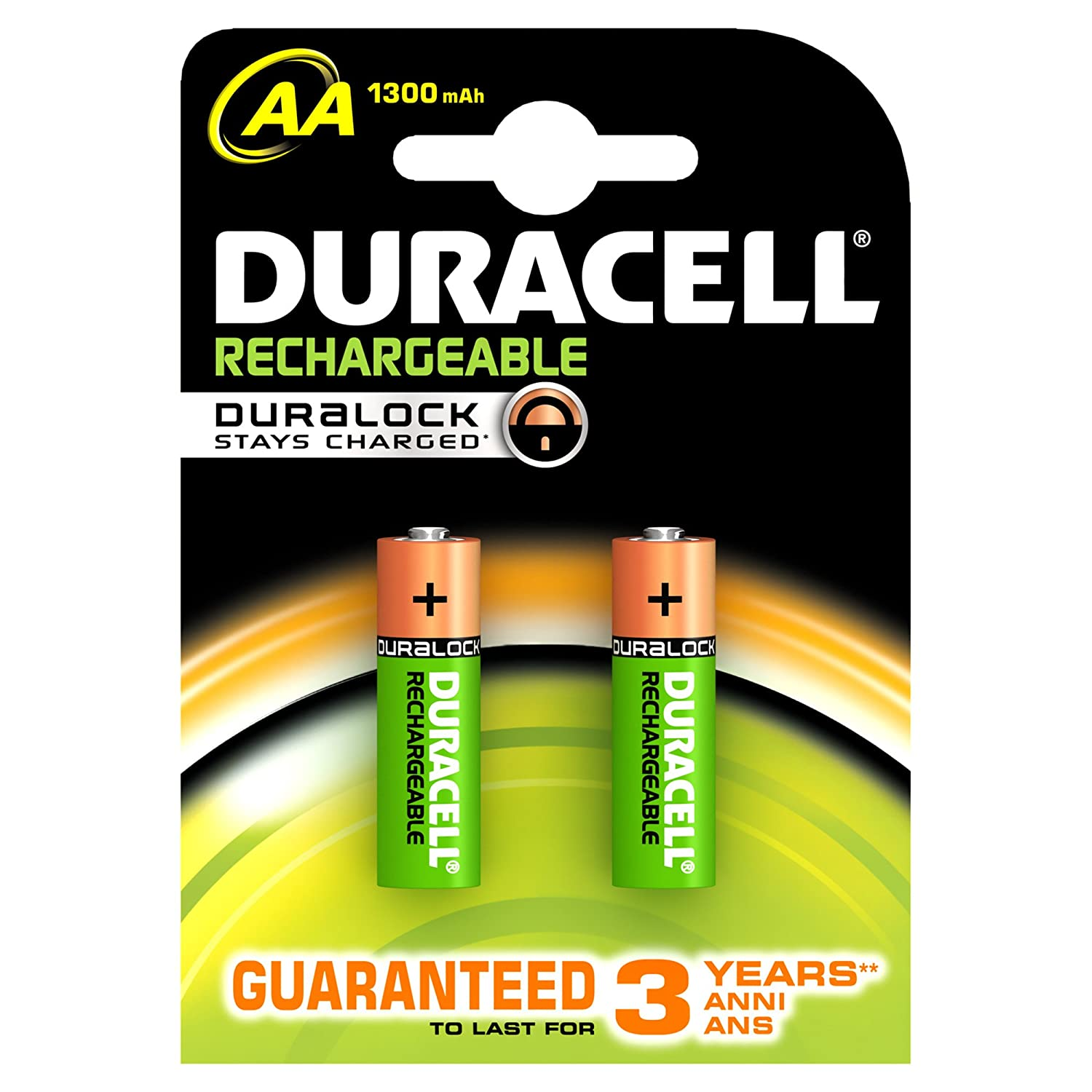 Duracell Stays Charged, AA - Batería/Pila recargable (AA ...