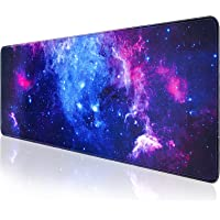 Gaming Mouse Pad, QOMOLAMA Large Mouse Pad XL 31. 5x11.8in, Big Extended Computer Keyboard Mouse Mat Desk Pad for Laptop…