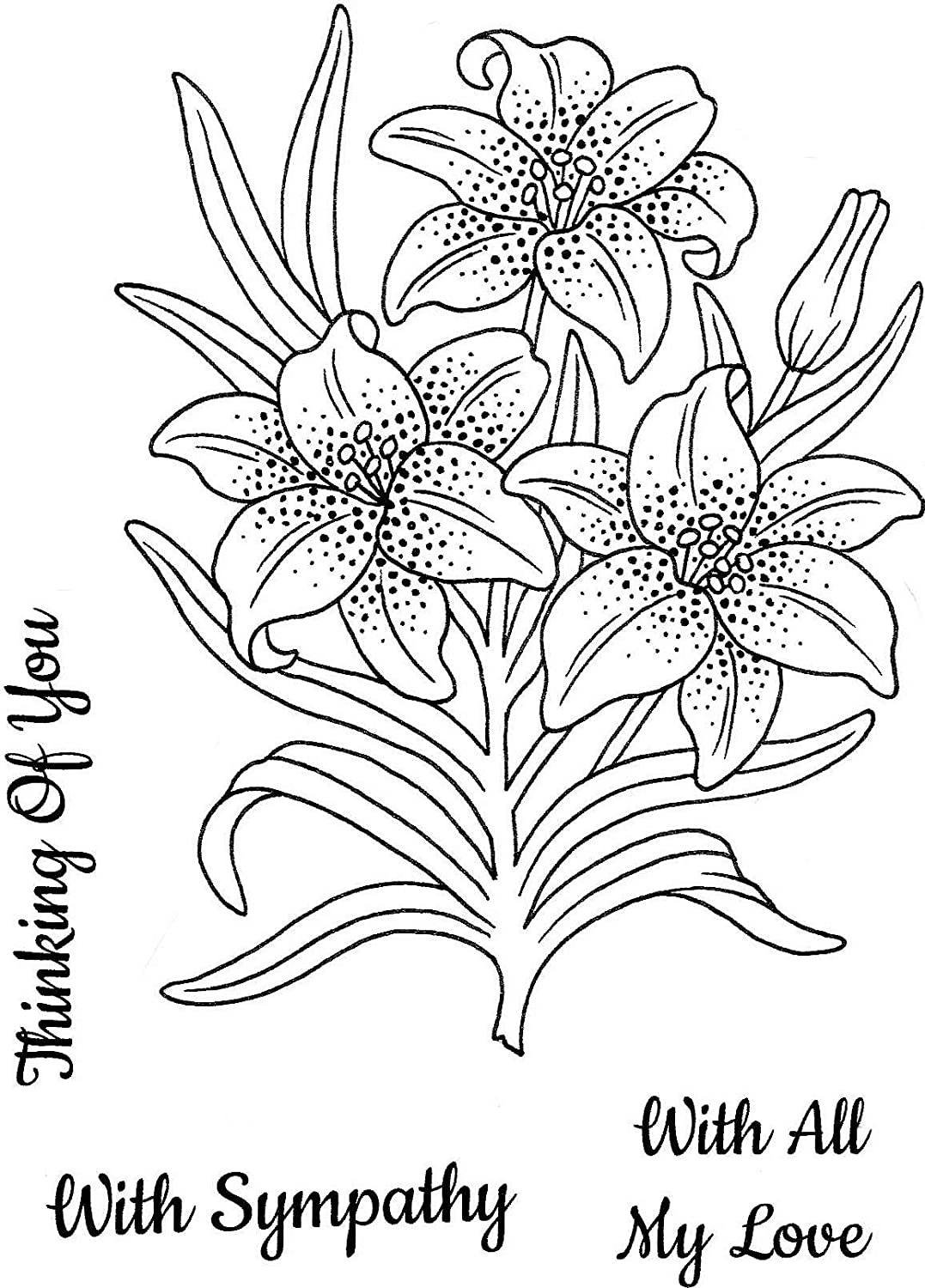 One Size Sweet Dixie Clear Stamp