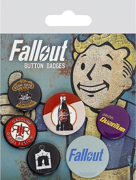 GB Eye, Fallout 4, Mix 2, Pack de Chapas,: Amazon.es: Hogar