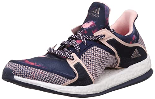 d24ef606d5a6 adidas Womens Running Sneakers Pure Boost X TR Training Shoes-Navy-6