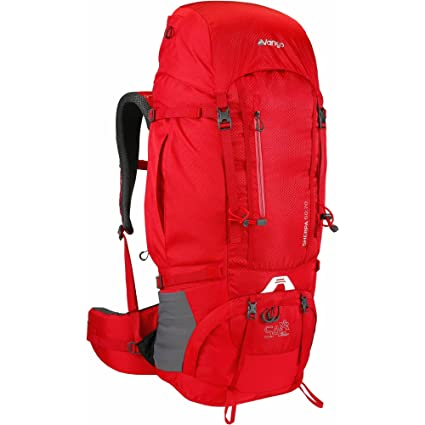 3a58222ee0 Vango Sherpa 60 70 Litre Rucksack with Shaped Adjustable Harness and  Detachable Rain Cover