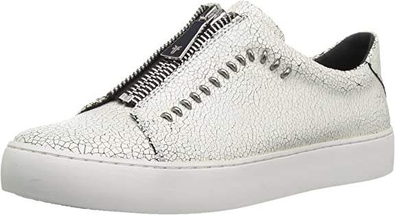 Frye Women's Lena Rebel Zip Low Sneaker
