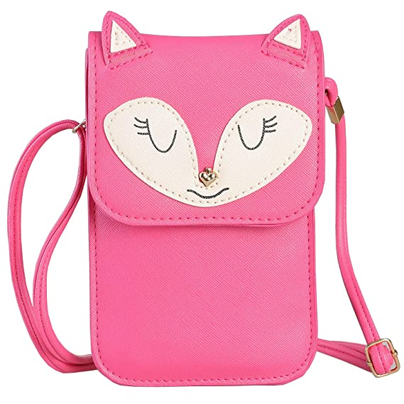 5df9822f68 Universal Multipurpose Synthetic Leather Crossbody Cell Phone Bag Purse  Mini Wallet Pouch for iPhone 7 6