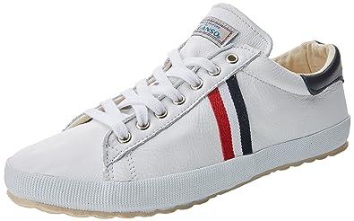 El Ganso Low Top Classic Ribbon, Zapatillas de Deporte para Hombre, (Blanco Único), 45 EU: Amazon.es: Zapatos y complementos