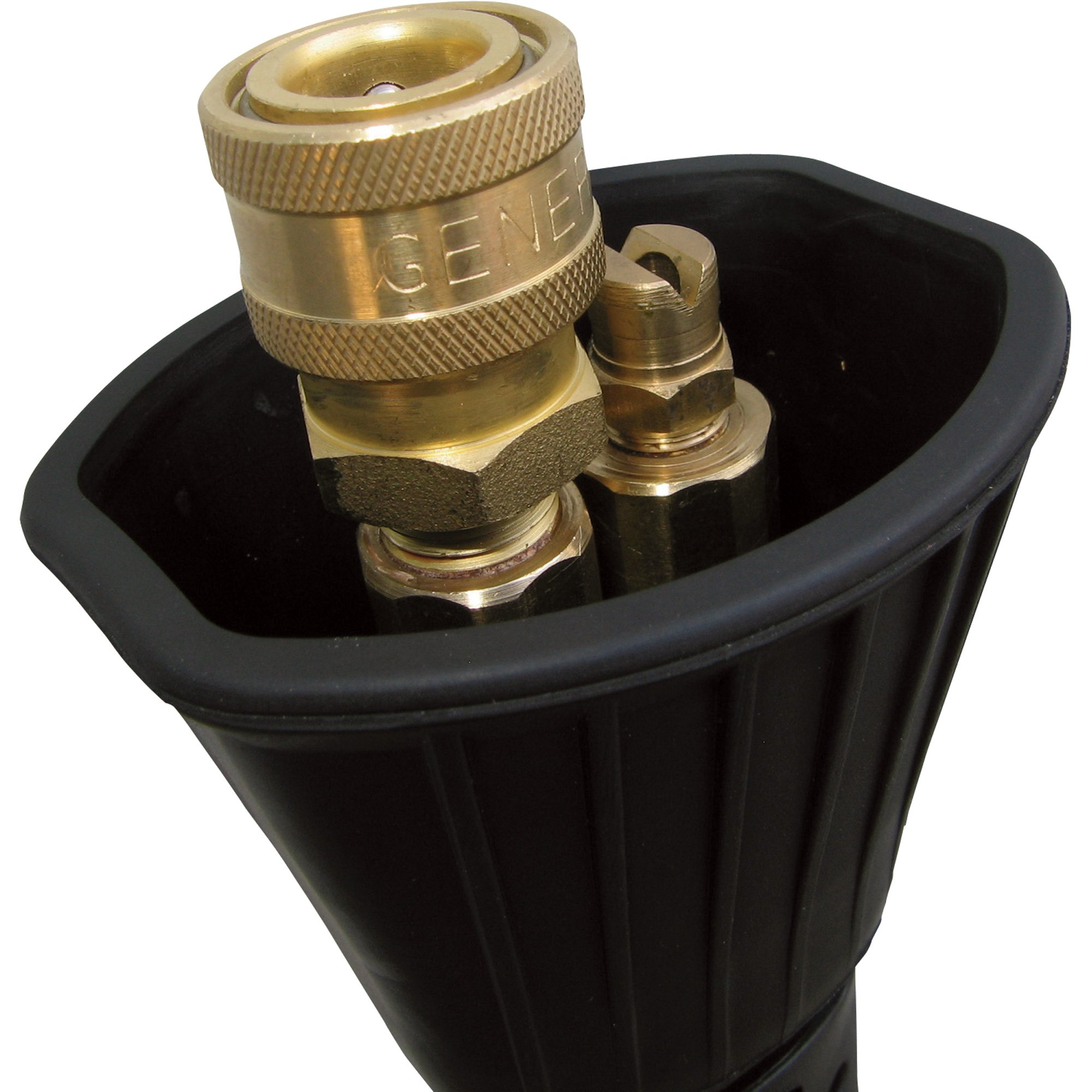 General Pump Hot Water Zinc-Plated Dual Lance - 4000 PSI, 10.5 GPM, 22in.L, Model# 2100232