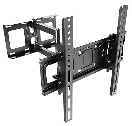 RICOO TV Wandhalterung Schwenkbar Neigbar S6144 Universal LCD Wandhalter Fernsehhalterung Ausziehbar Fernseher Halterung für