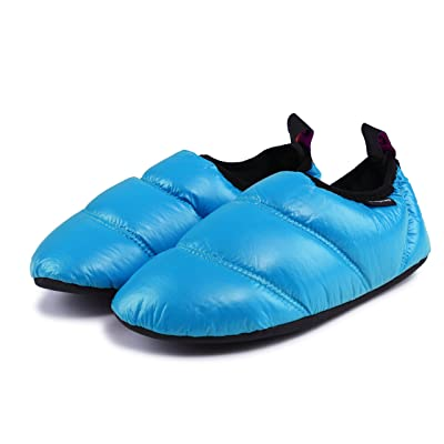 KingCamp Unisex Warm Camping Slippers Soft Winter Slippers with Non Slip Rubber Sole & Carry Bag (7 Colors) | Slippers