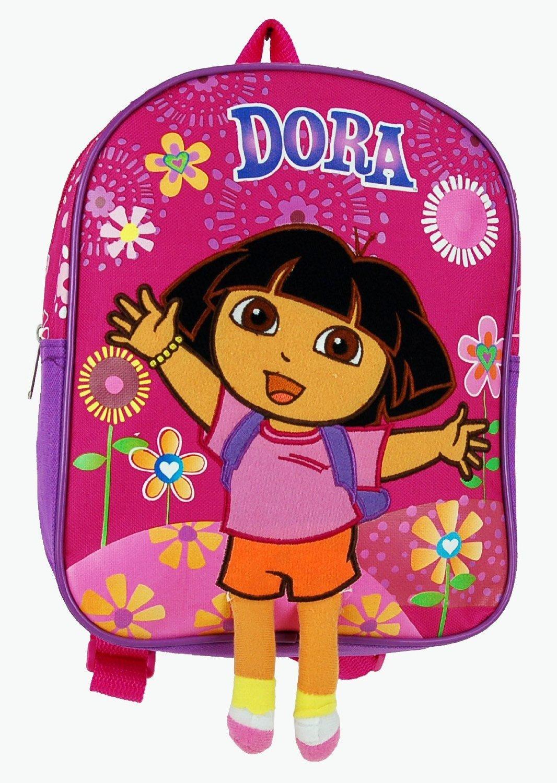 Mini Backpack w// Fireworks Pink 10 New School Bag 618544 Dora the Explorer