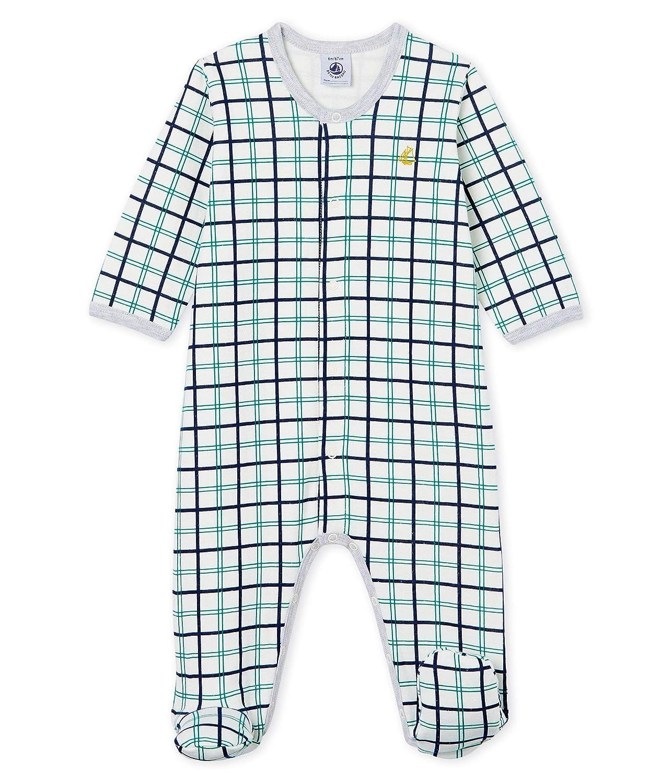 Petit Bateau Baby-Jungen Schlafstrampler