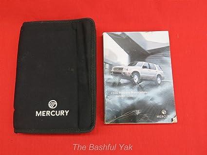 amazon com 2004 mercury mountaineer owners manual automotive rh amazon com 2004 Mercury Mountaineer Fuse Diagram 2001 Mercury Mountaineer Fuse Diagram