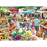 Farmer's Market Jigsaw Puzzle 1000 Piece