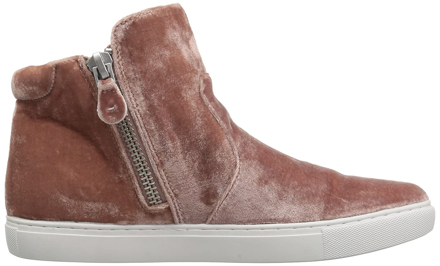 Gentle Souls Women's Carole Double Zip Mid-Top Sneaker B075GZWNQ4 9 B(M) US|Blush