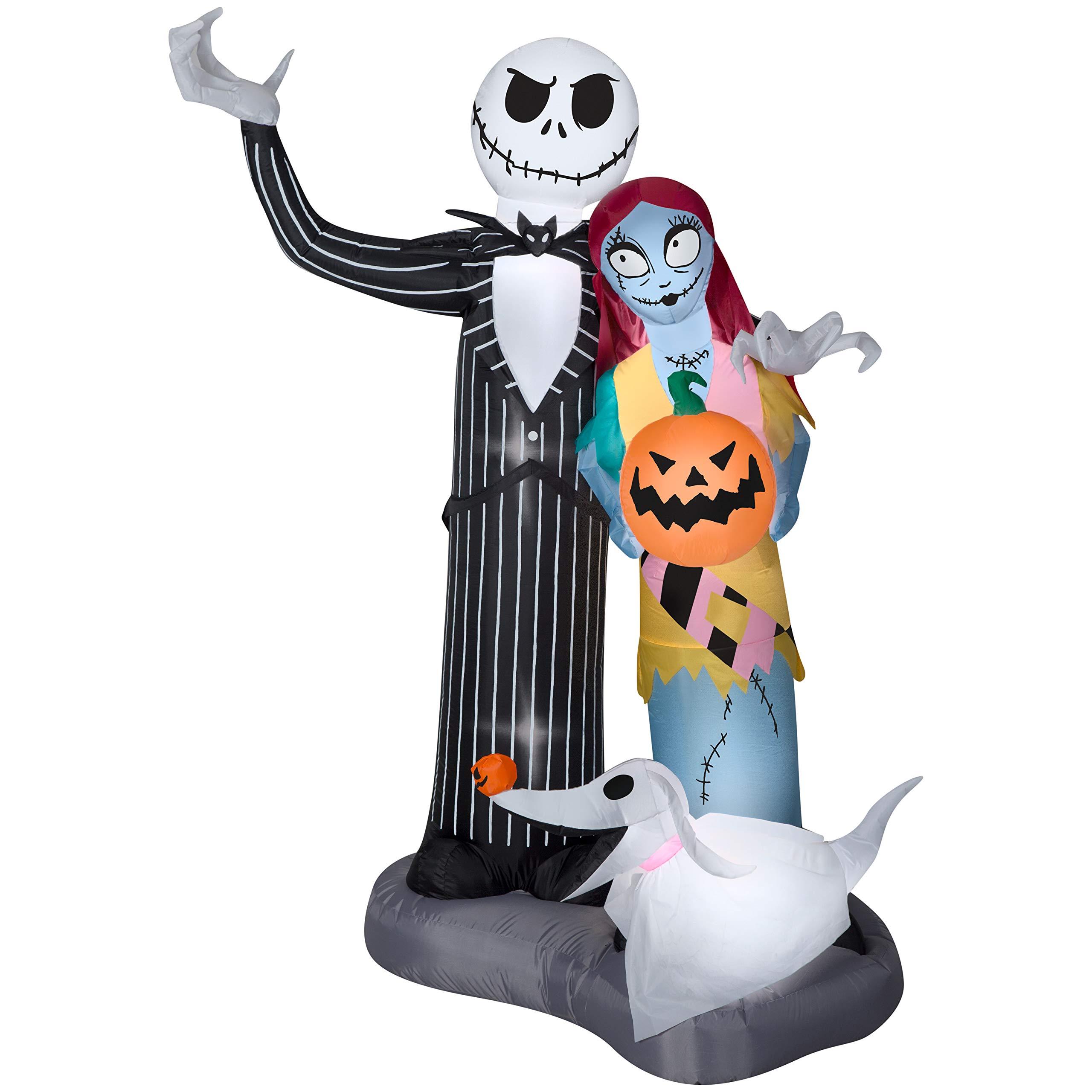 Airblown Inflatable Halloween Jack Skellington Nightmare Before ...