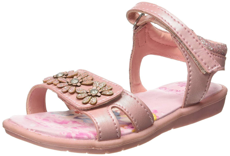 Disney Girl's Mckyhalf Face Thong Blue Indian Shoes - 13 Kids UK/India (33 EU)(3719097)