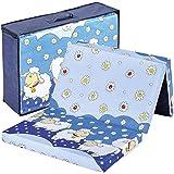 Bambini Reisebettmatratze 120x60 cm | Höhe 6 cm | gute Durchlüftung und Feuchtigkeitsregulierung | waschbar