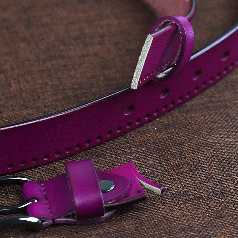 KEBINAI Cowhide Leather Belt Women Jeans Female Belt Strap Fashion Belts For Women 95-110cm