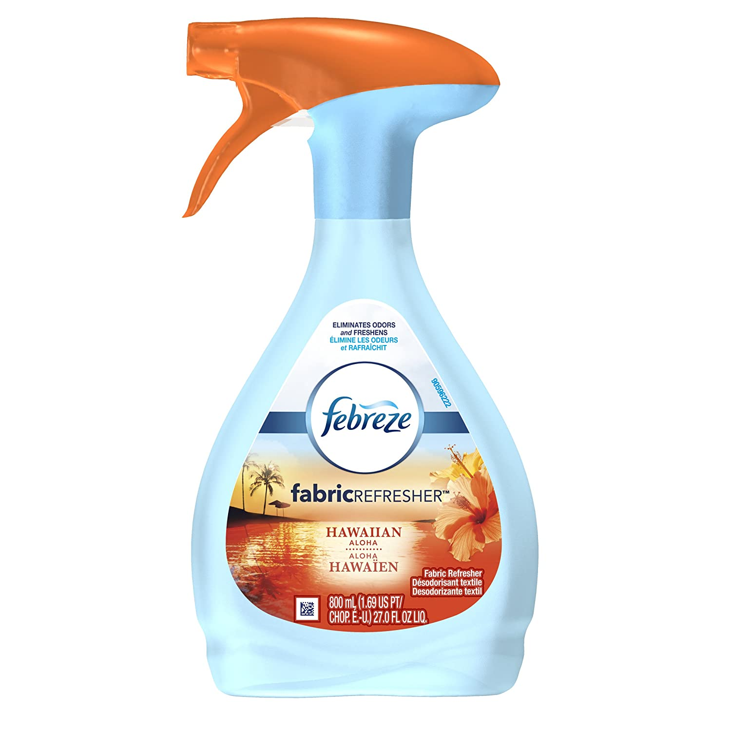 Febreze FABRIC Refresher, Allergen Reducer, Clean Splash (1 Count, 800 mL) NA
