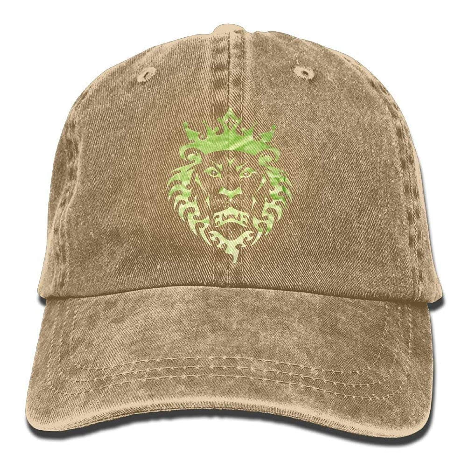 JTRVW Lebron Lion Logo Adult Cowboy Hat Baseball Cap Adjustable Athletic Make Your Own Vintage Hat for Men and Women