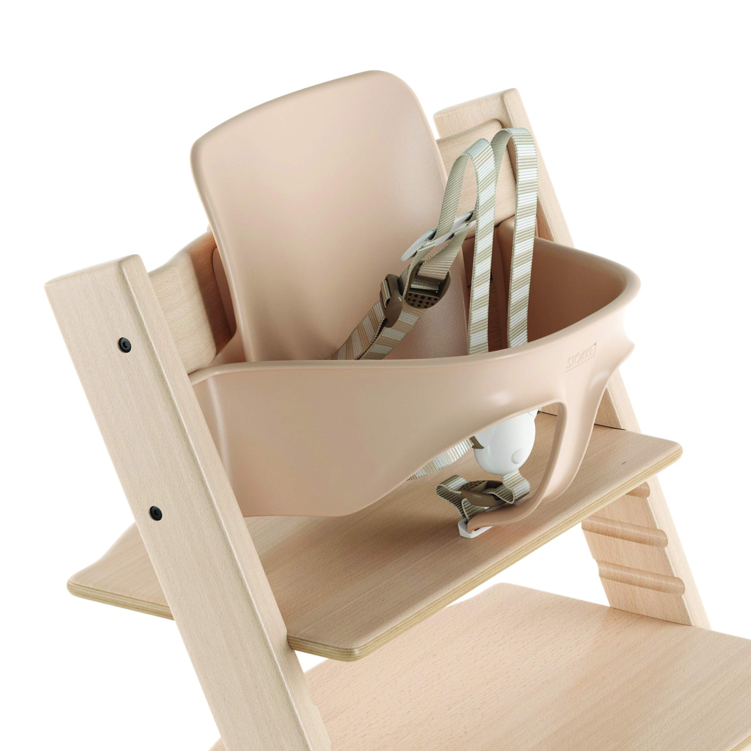 Stokke 2019 Tripp Trapp Baby Set, Includes Harness, Natural by Stokke