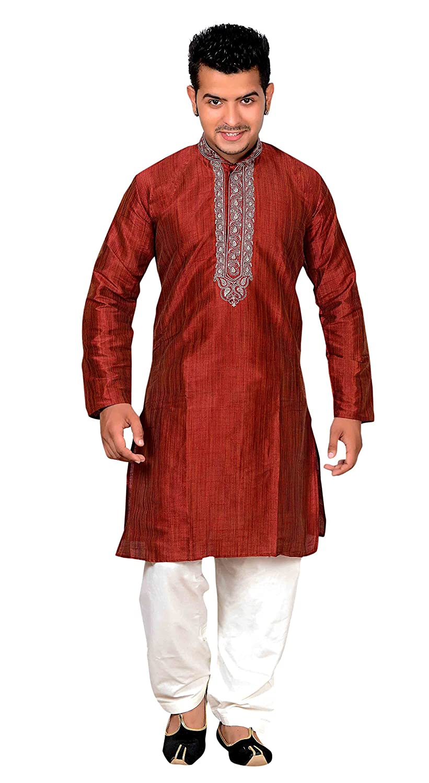 Herren Indian Maroon Sherwani Kurta salwar kameez fü r Bollywood mottoparty geschä fte Bradford London 749 Maroon Men Kurta Salwar Kameez - 749