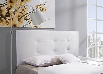 cabecero cabezal tapizado carla 160x115 blanco - Tapizar Cabecero
