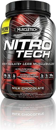 Muscletech Nitro Tech Hardcore Pro Serie Chocolate 907 g